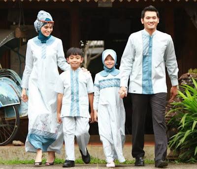 Aneka Model Busana Muslim Keluarga Terpopuler
