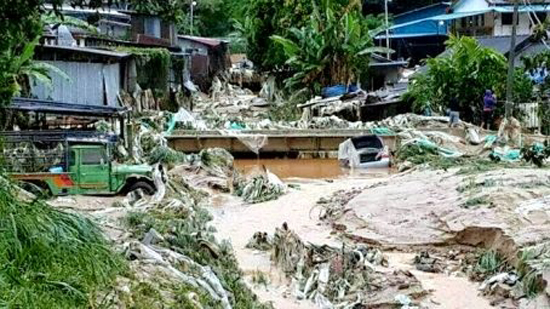 9 Gambar Banjir di Ringlet, Cameron Highlands