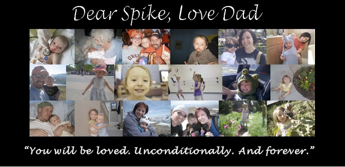 Dear Spike, Love Dad