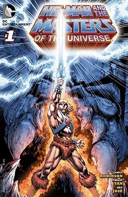La copertina americana di He-Man and The Masters of the Universe #1