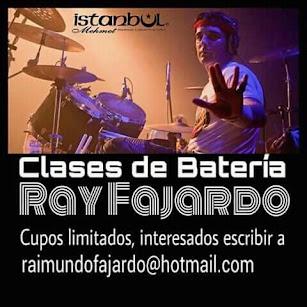 CLASES DE BATERÍA BY RAY FAJARDO