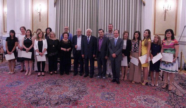 Ο Πρόεδρος της Δημοκρατίας βράβευσε τη διευθύντρια του 7ου Δημοτικού Σχολείου Ορεστιάδας