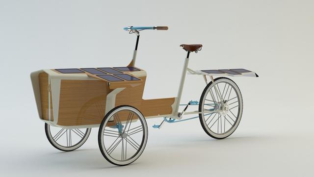 Sun Bike: triciclo movido a energia solar