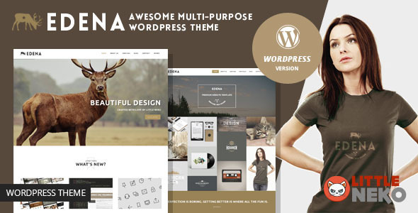 download EDENA | Multipurpose WordPress Theme