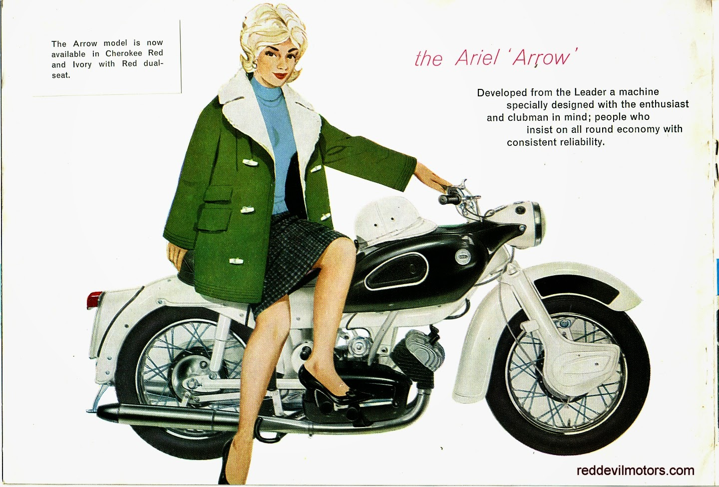 Ariel Arrow and Leader brochure page 5