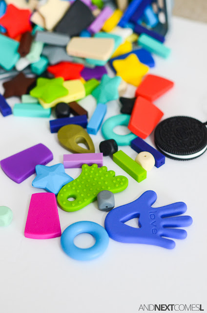Silicone beads from Canadian DIY Supply from And Next Comes L