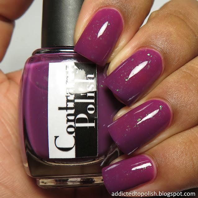 contrary polish perplexing plum