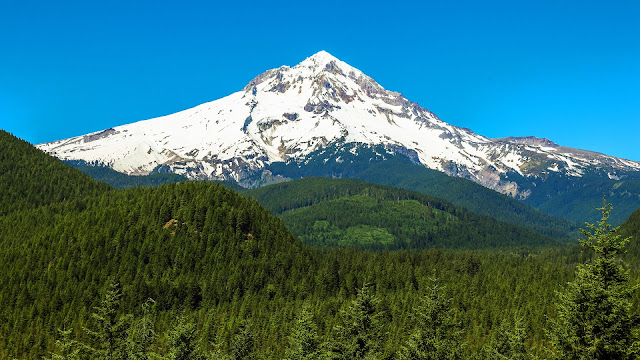 Mount Hood Oregon HD Wallpaper