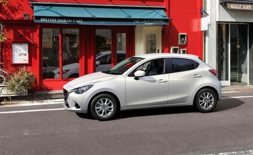 White 2016 Mazda2