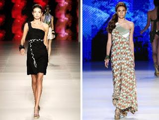 modelos de Vestidos com uma Alça em imagens