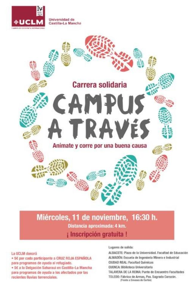 "Carrera Soidaria ""Campus a Través"" en Toledo"