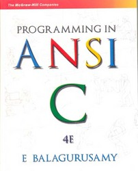 free ebook downloads ANSI-C programming Balaguruswamy