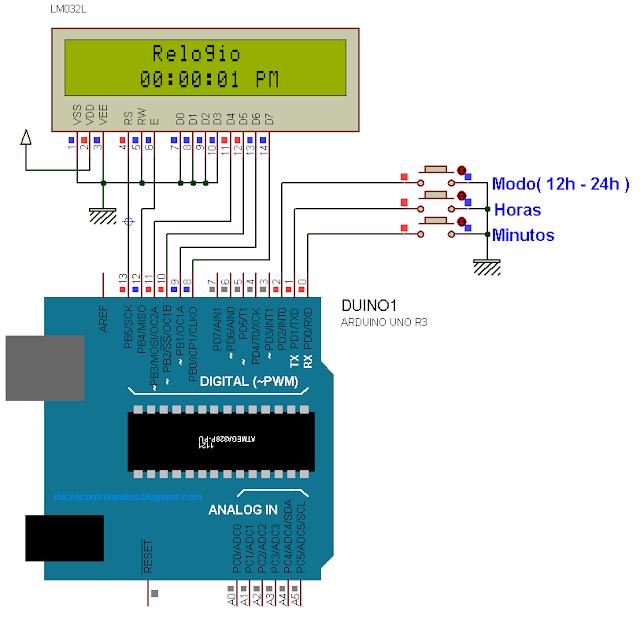 Arduino: Relógio Simples
