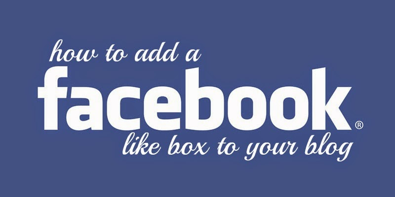 Add Facebook Like Box Blogger