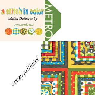 Moda A STITCH IN COLOR Quilt Fabric by Malka Dubrawsky