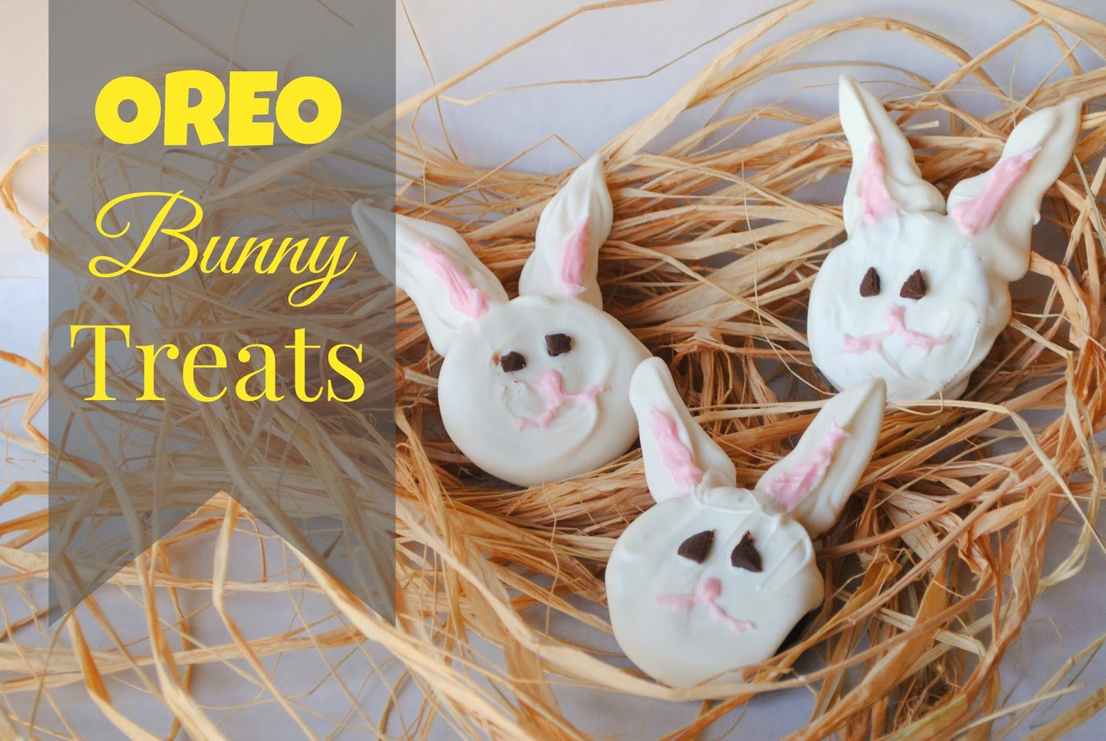 Oreo Easter Bunny Treats