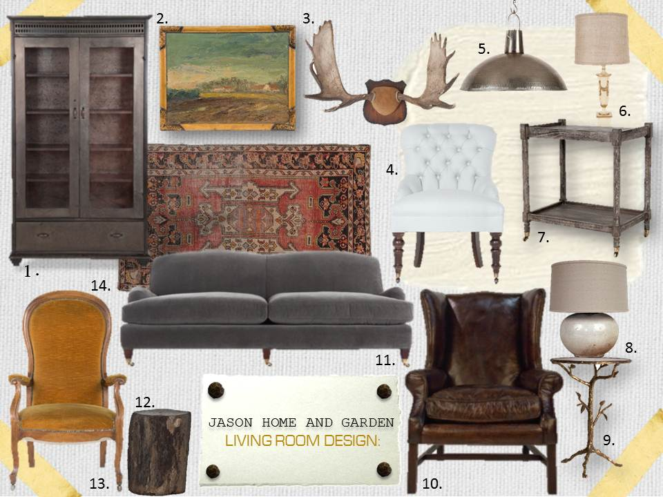 JASON HOME AND GAREDN: LIVING ROOM DESIGN