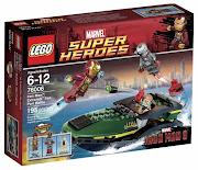 Lego Marvel Iron Man 2013, premiers visuels et économies en perspective (lego super heroes )