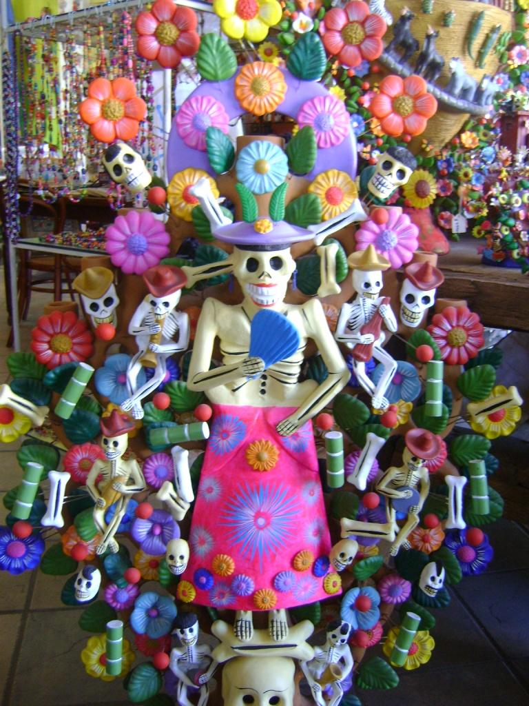Decoracion Oficina Dia De Muertos ~   de la mirada de una cubana Halloween y el D?a de Muertos en M?xico