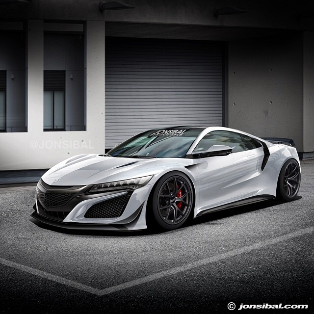 Here's How Jon Sibal Imagines Tuning The New Acura NSX