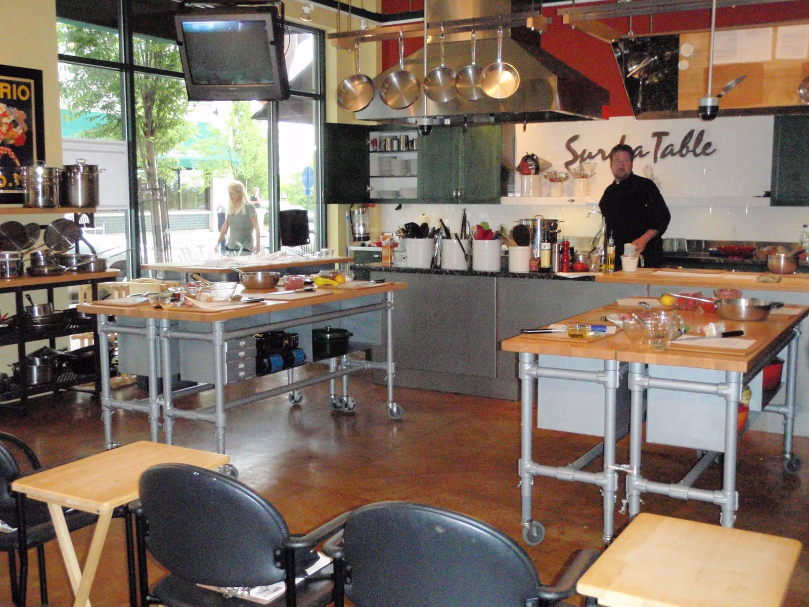 life, love, and marathons: cooking class at sur la table