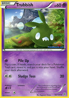 Trubbish Plasma Storm Pokemon Card