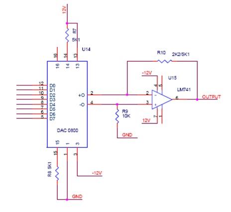 engineering projects digital to analog converter dac 0800 rh ugpro143 blogspot com Block Diagram PLL Temperature Sensor Block Diagram