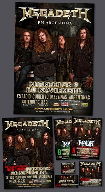 Megadeth 2011 / En Argentina !!!