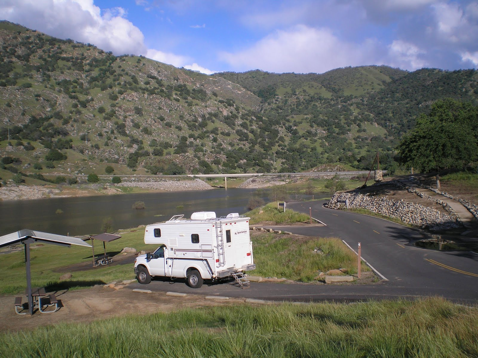 The road genealogist lake kaweah three rivers for Lake kaweah fishing