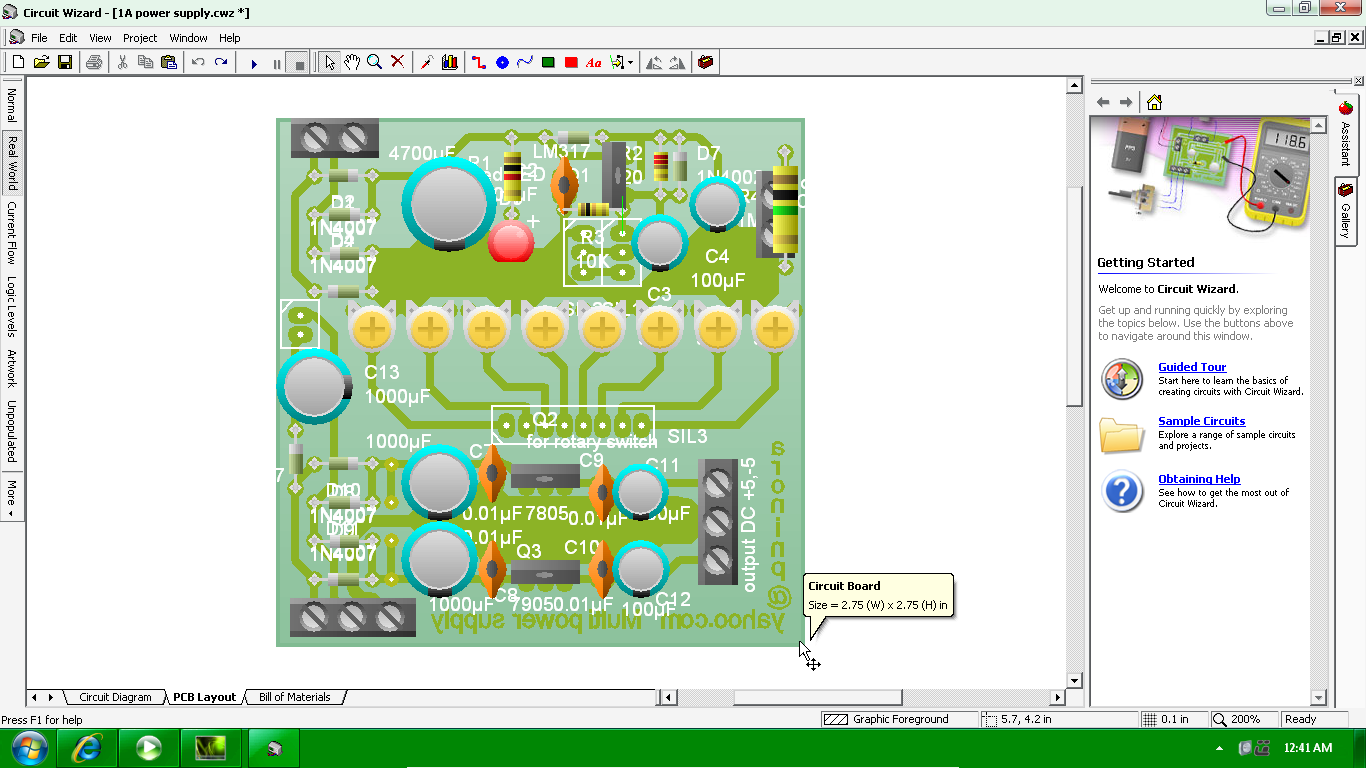 Horizon Of Electronics 2012 Simple Dc Power Supply Schematicpng To Make A Lowcost Multi Powersupply That Can Capable Producing An Output 12v 23v Dcstep By Step And Fine Turning 5v 0