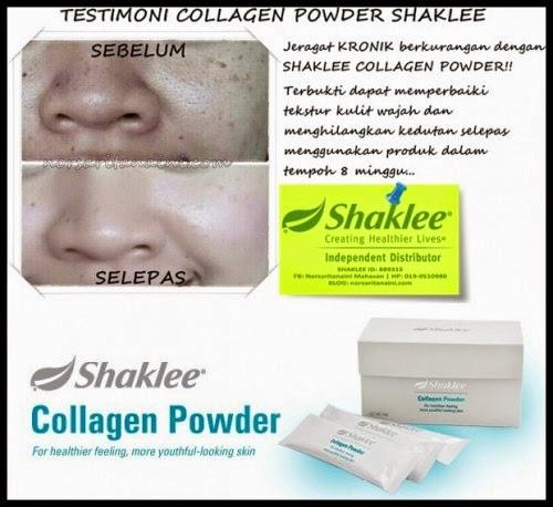 tentang KOLAGEN edisi khas sempena promosi shaklee collagen powder