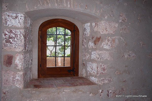 Old fortress window