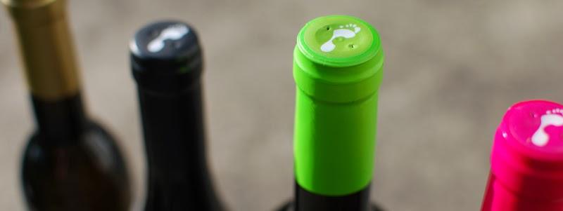 O vinho...
