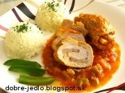 Bravčové rolky v paradajkovej omáčke - recept