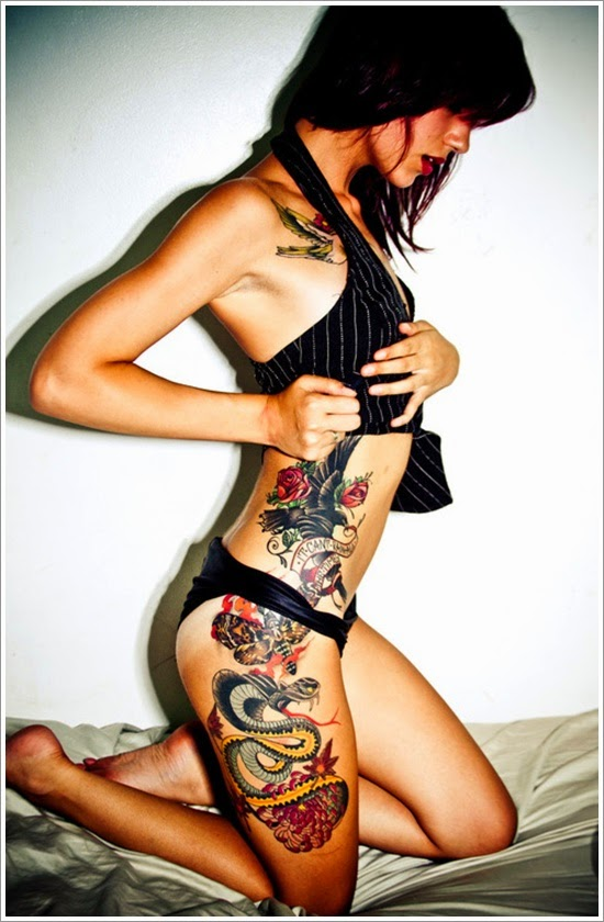 Tattoo ideas for women with meaning on legs nail art and for Tattoos on the leg for females