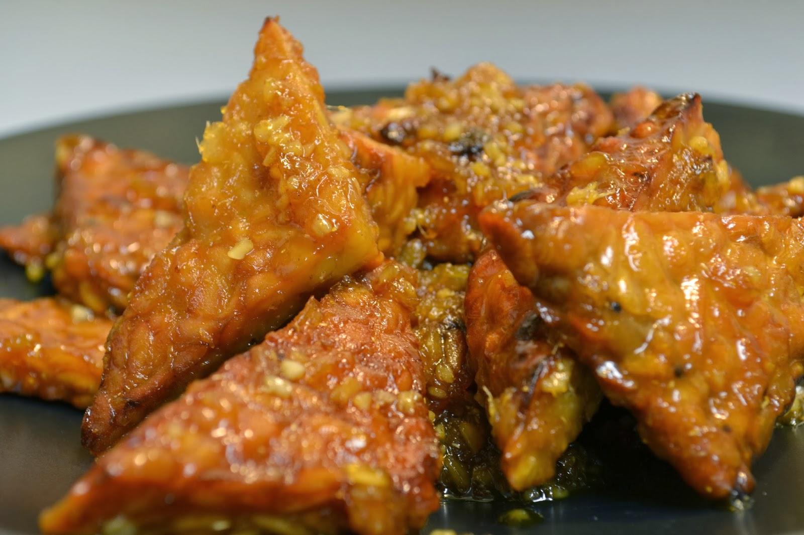 Vegans Have Superpowers: Orange Pan-Glazed Tempeh
