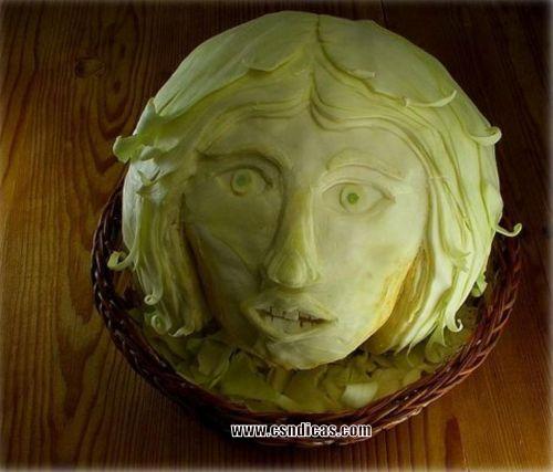 Imagens Divertidas de Arte com Alimentos