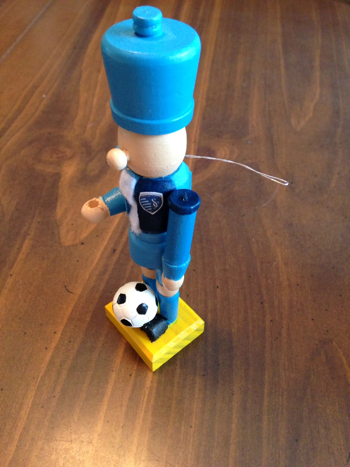 Soccer ornaments - Usa Womens Soccer Ornament