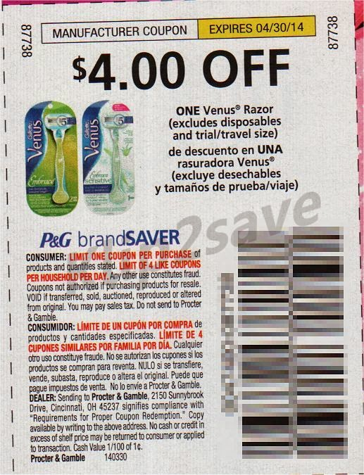 photo relating to Venus Printable Coupons referred to as Intense Couponing Mommy: Cost-free + MONEYMAKER Gillette Venus