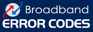 BSNL Broadband Line Connecting Error Codes in DSL Technology