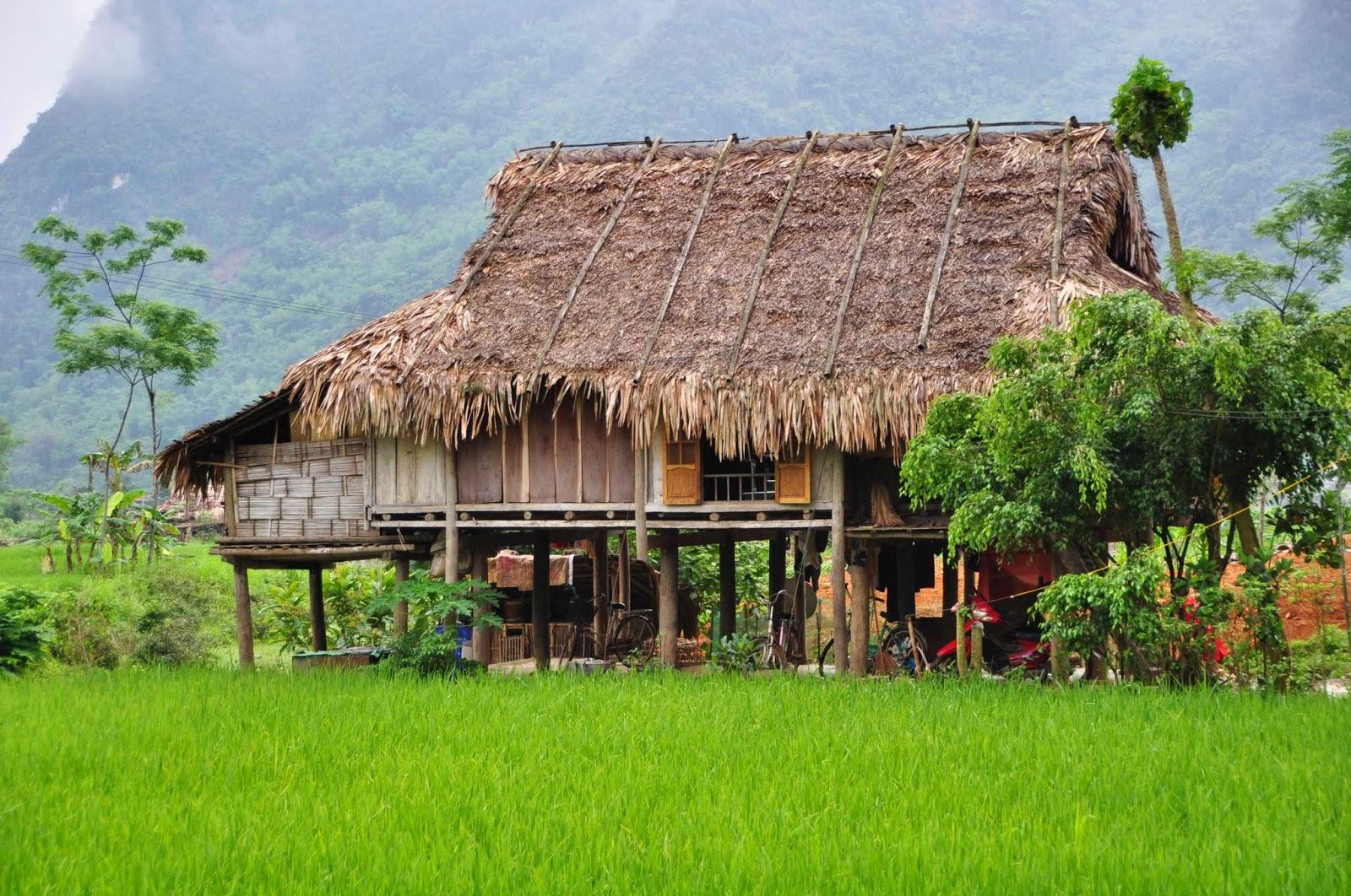 Cambodge laos vietnam ouest am ricain 9 mois en 2014 for Maison traditionnelle laos