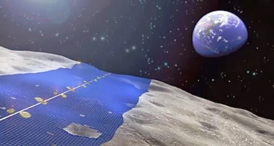 Japoneses planeiam construção de anel solar na Lua