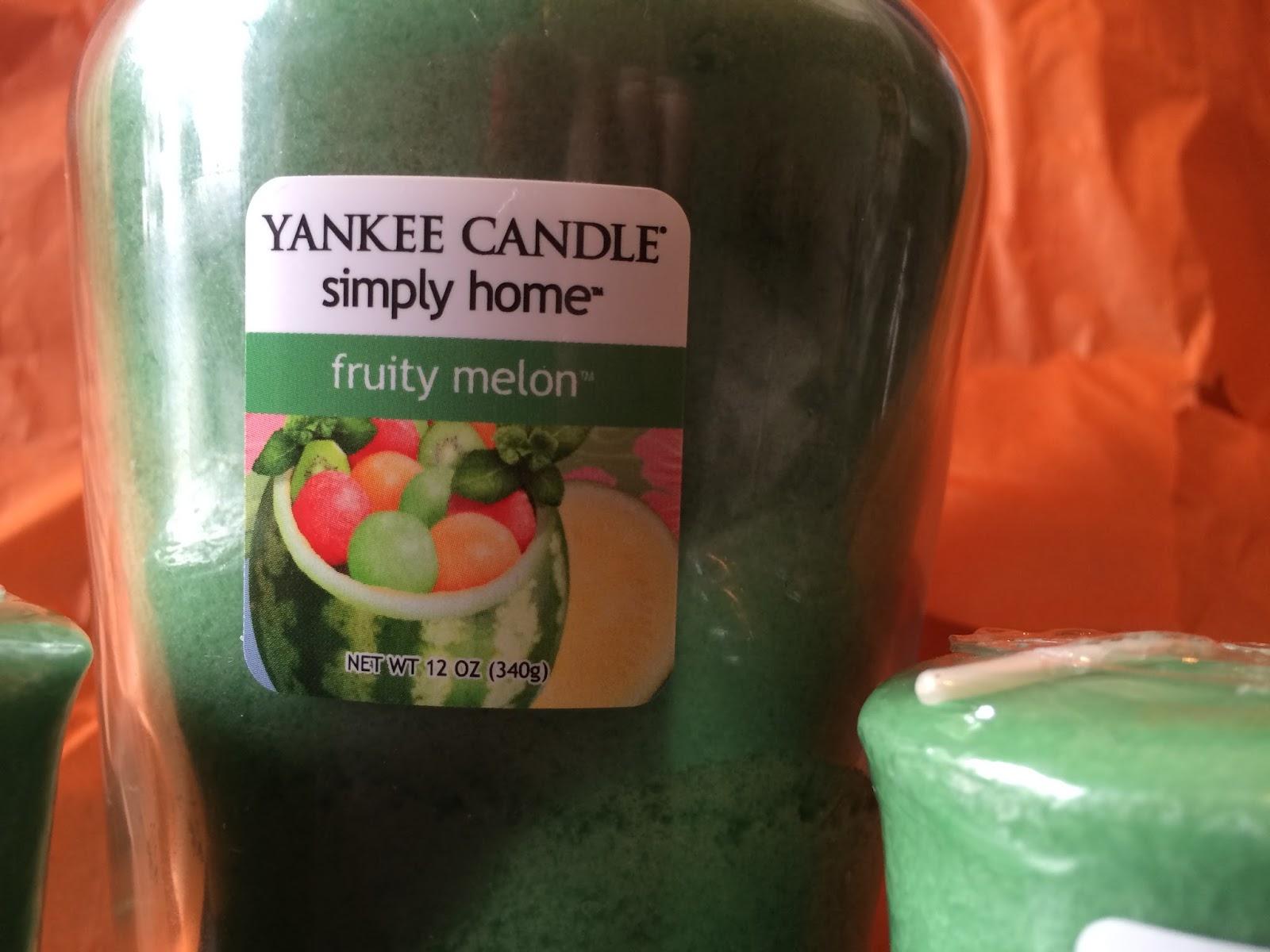 beautyqueenuk fruity melon yankee candles. Black Bedroom Furniture Sets. Home Design Ideas