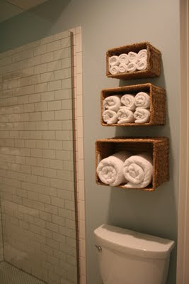 toallas en cestas