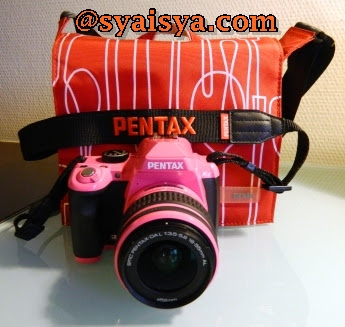 REVIEW PENTAX DSLR Kr + 18-55mm PINK