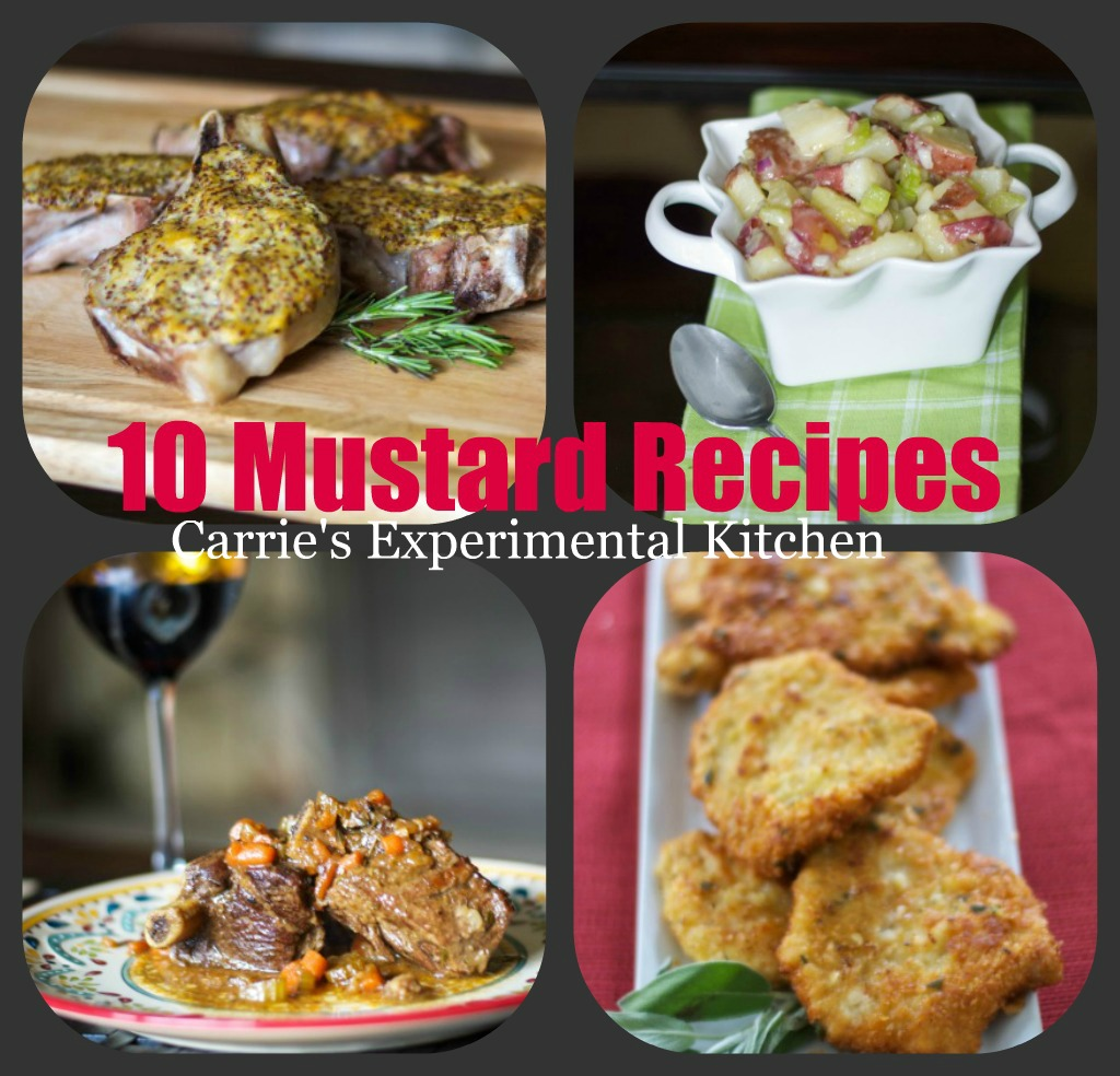 Top 10 mustard recipes for national mustard day carries happy monday the weeks just seem to be flying by this summer and we still have another 5 weeks to go before school starts again forumfinder Choice Image