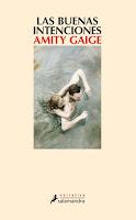 Las buenas intenciones, Amity Gaige