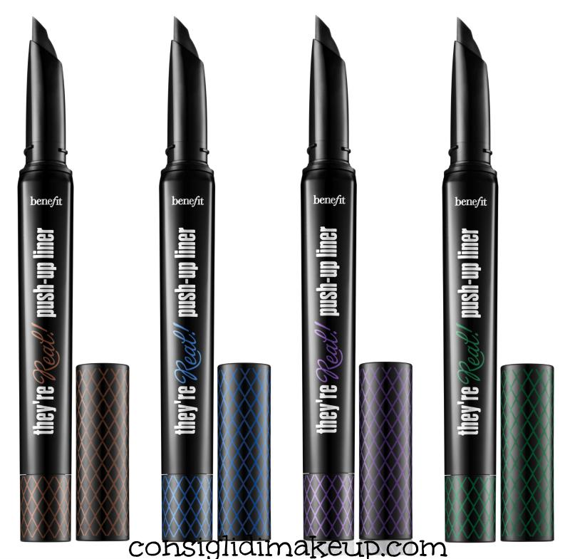eyeliner benefit marrone blu viola verde novità 2015