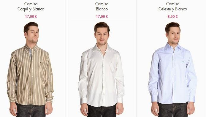 Camisas Caramelo para hombre