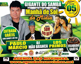 GIGANTE DO SAMBA - MANHÃ DE SOL DA MÍDIA.